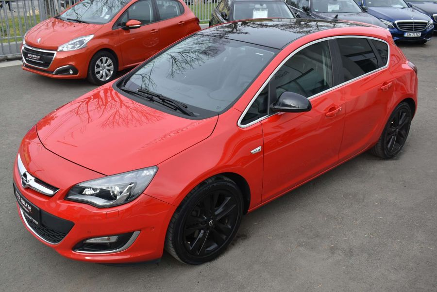 Opel Astra J Exclusive Black Roof Edition